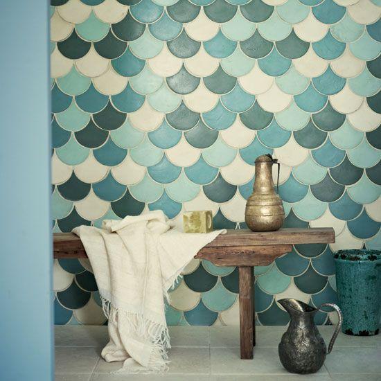 Оформление ванной мавританской плиткой