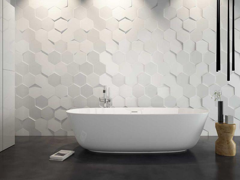Варианты оформления ванны плиткой