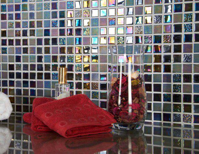 Оформление стеклянной мозаикой