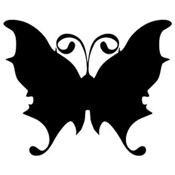 Бабочка с круглыми усиками