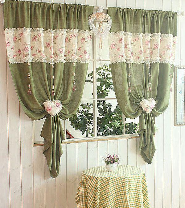 Декоративные элементы на шторах