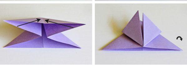Слаживаем верхние треугольники