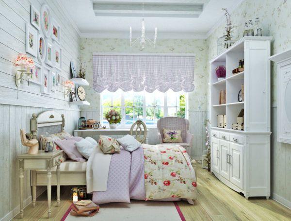Предметы в стиле прованс в детской комнате