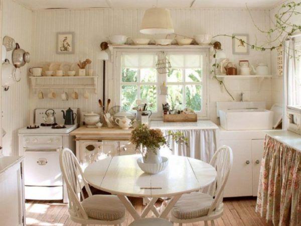 Интерьер дома в стиле прованс очень красивый