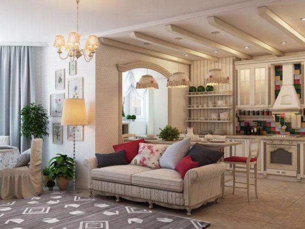 Элегантная и изящная мебель в стиле прованс