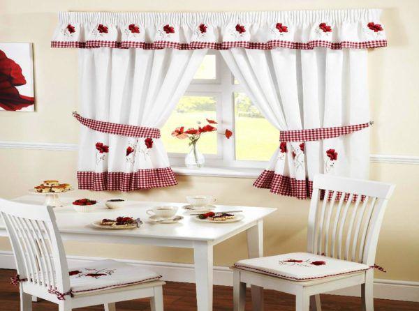 Миниатюрные льняные шторы для домашнего уюта