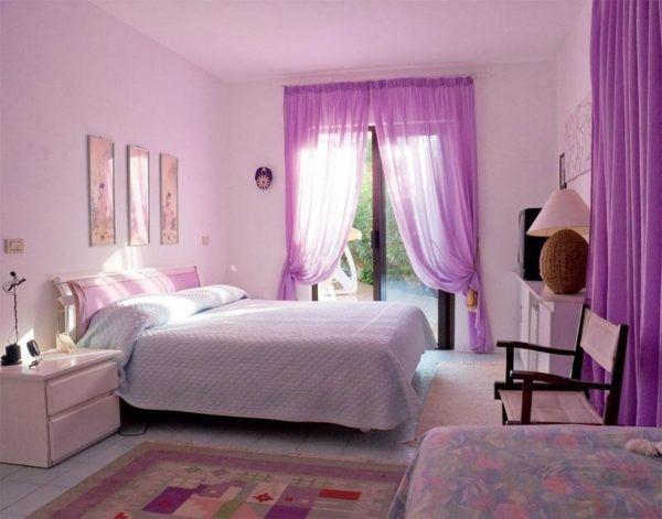 Орхидеевый оттенок комнаты