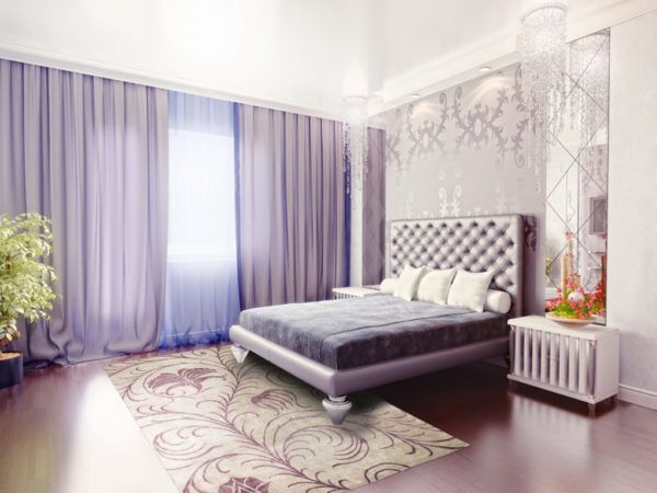 Дизайн-проект для спальни, созданный по всем правилам грамотного дизайна