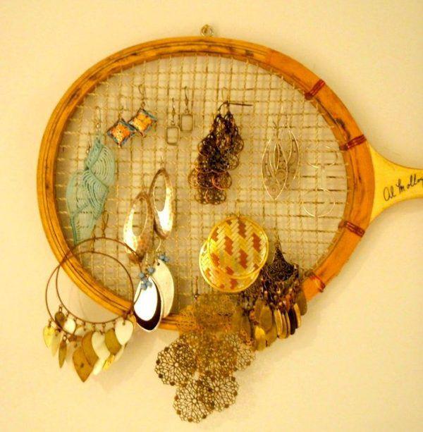 Теннисная ракетка для украшений