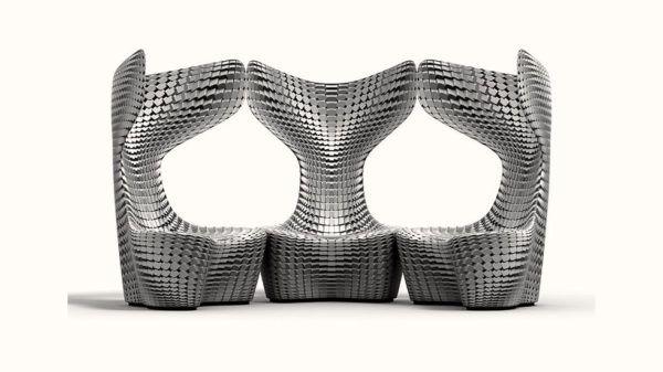 «Чешуйчатые» кресла