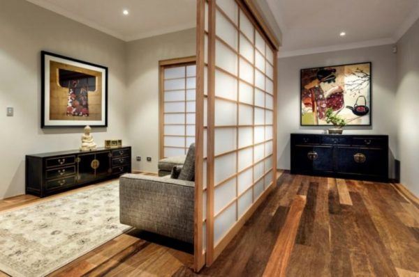 Азиатский стиль вдизайне для небольших площадей
