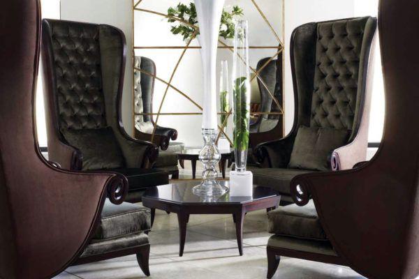Английские кресла в гостиной