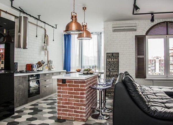 Барная стойка как центр кухонной жизни