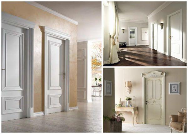 Белые двери универсальны