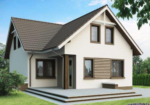 Вариант строения с аккуратным видом