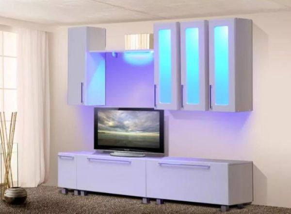 Внутренняя подсветка мебели