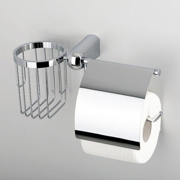 Держатель туалетной бумаги и освежителя