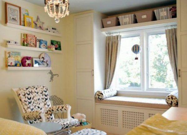 Детская комната в загородном доме американского стиля