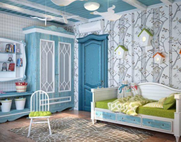 Детская комната в средиземноморском стиле