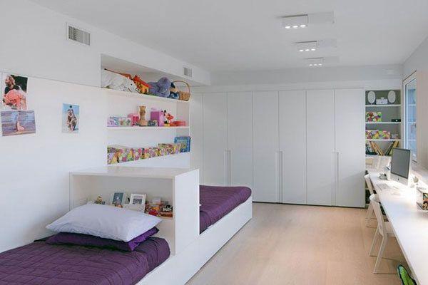 Дизайн комнаты для двоих подростков
