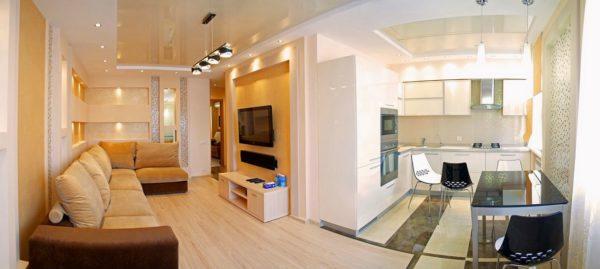 Дизайн типовой двухкомнатной квартиры