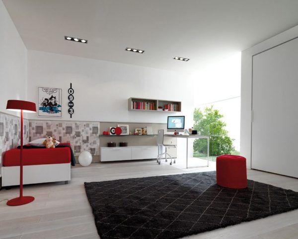 Зонирование комнаты для подростка