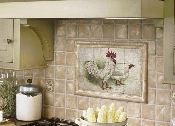 Изображение в стиле прованс на кухне