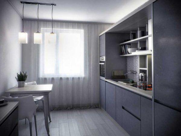 Интерьеры кухни 9 кв м в панельном доме