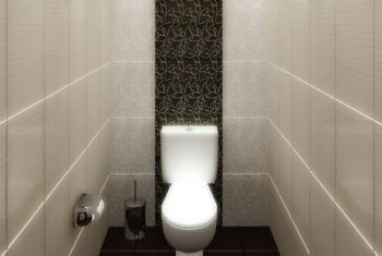 Интерьер туалета маленького размера