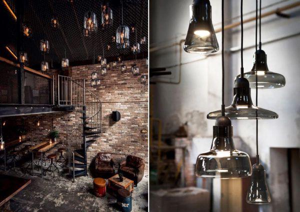 Использование подвесных потолочных светильников для лучшего освещения определенной зоны большого помещения