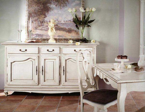 Как покрасить мебель в стиле прованс