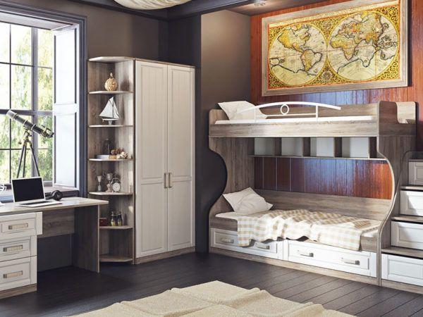 Комната с романтичным и аккуратным стилем Прованс