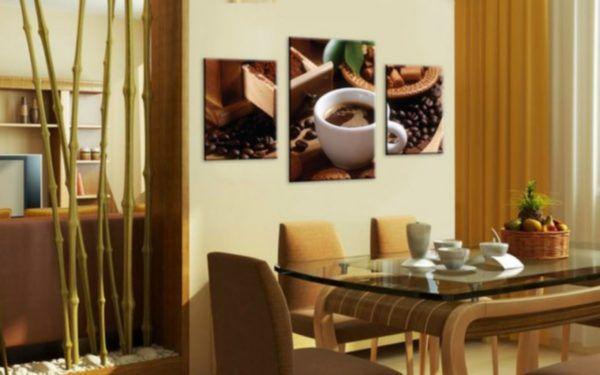 Кофейный триптих на кухне