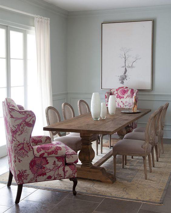 Кресла за обеденным столом