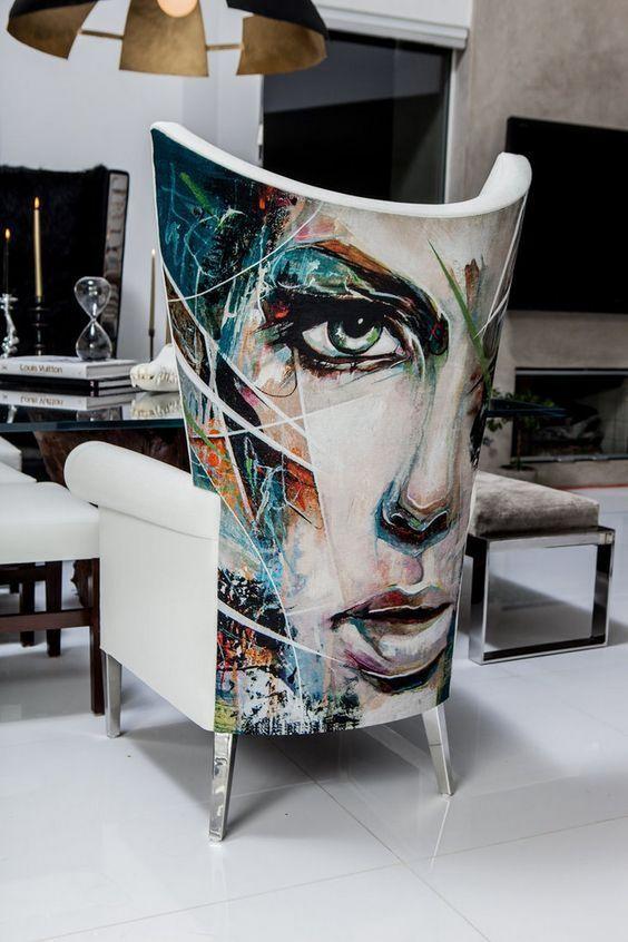 Кресло, выполненное по индивидуальному заказу