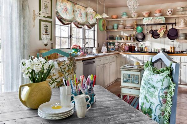 Кухня, исполненная в стиле прованс