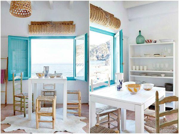 Кухня со свежестью средиземноморского стиля