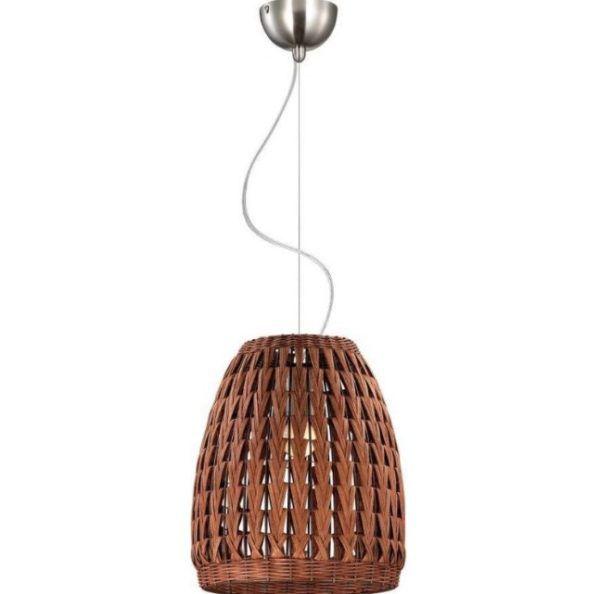 Люстра из бамбуковых волокон