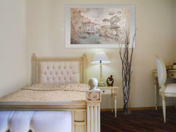 Мебельная обивка придаст романтики