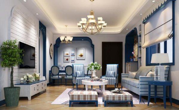 Мебель в интерьере средиземноморского стиля должна быть максимально натуральной и простой