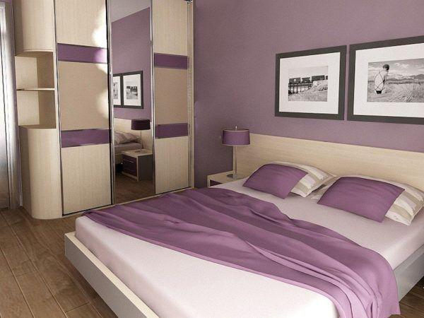 Мебель в спальне должна сочетаться с общим стилем оформления