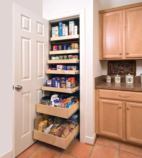Мини-кладовка на кухне