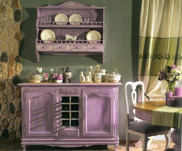 Нестандартные цветовые решения в пределах кухни