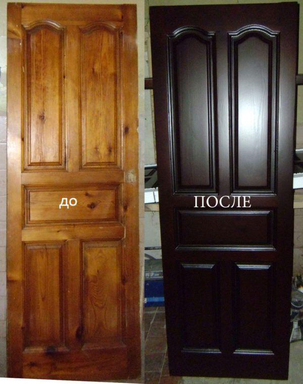 Обновляем двери