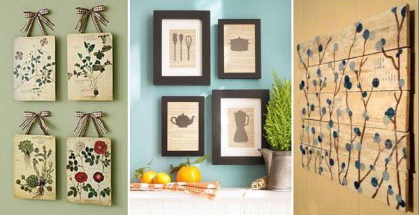 Одним из ключевых элементов декора помещений, выполненных в стиле прованс, является настенное панно