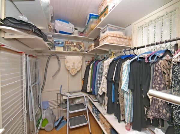 Организация пространства в кладовой