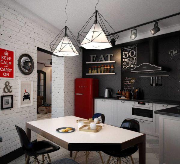 Оригинальные светильники могут выступать отличным декоративным элементом
