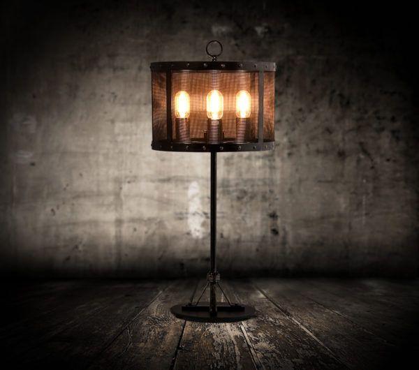 Оригинальный напольный светильник в стиле Лофт
