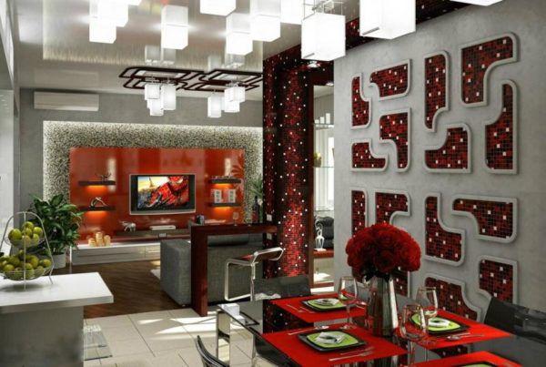 Осветительные приборы сливаются с дизайном кухни