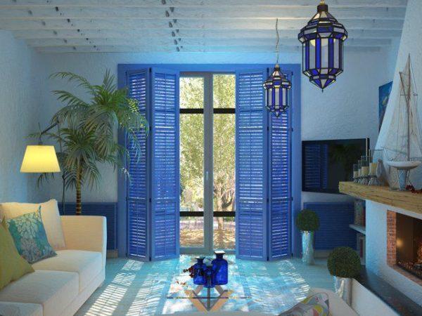Освещение в квартирах с данным направлением дизайна должно быть хорошо продуманным